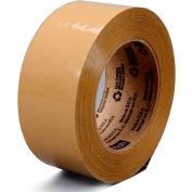 """3M Machine Length Carton Sealing Tape 371 2"""" x 1000 Yds 1.9 Mil Tan"""