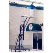 "One Person Lift 64""L x 20""W Cantilever Platform - Hydraulic Hand Pump Lift"