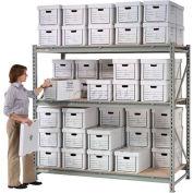 "Record Storage Rack Starter 72""W x 36""D x 96""H"