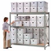"Record Storage Rack Starter 96""W x 36""D x 96""H"