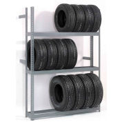 "3 Tier Double Entry Tire Rack 60""W x 54""D x 84""H"