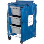 Blue Nylon Cover For 3 Lug Cart