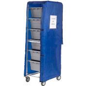 Blue Nylon Cover For 6 Lug Cart
