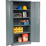 Paramount™ Storage Cabinet Assembled 36x18x78 Gray