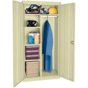 Sandusky Classic Series Combination Storage Cabinet CAC1362472 - 36x24x72, Putty