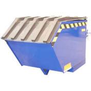 Plastic Lid PLID-H-50 for Vestil 1/2 Cubic Yard Low-Profile Self-Dumping Hopper & Triple-Bin Hopper