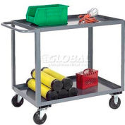 Jamco Gray All Welded 3 Shelf Stock Cart SC130 30x18 1200 Lbs. Capacity