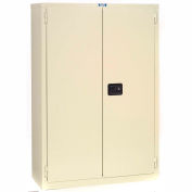 "Jamco Fire Resistant Cabinet BX19-AP, All Welded 43""W x 18""D x 44""H Putty"