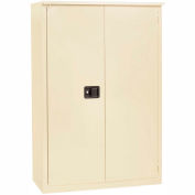 "Jamco Fire Resistant Cabinet BX29-AP, All Welded 43""W x 18""D x 65""D Putty"