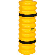 "Eagle Narrow Column Protector, 4""- 6"" Column Opening, 13""O.D. x 42""H, Yellow, 1704"