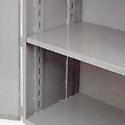 "Jamco Additional Shelf 348AT-GP - For Heavy Duty Storage Cabinet 48""W x 30""D Gray"