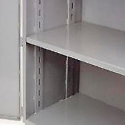 "Jamco Additional Shelf 360AT-GP - For Heavy Duty Storage Cabinet 60""W x 30""D Gray"