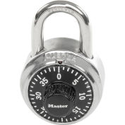 "Master Lock® 1525 Combination Padlock - 3/4"" Shackle - With Key Access"