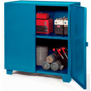"Jamco Extra Heavy Duty Storage Cabinet MH472-BP - Welded 12 Gauge 72""W x 36""D x 54""H Blue"