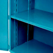 "Jamco Additional Shelf 448AT-BP - For Heavy Duty Storage Cabinet 48""W x 36""D Blue"