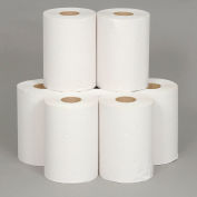 "Boardwalk Unperforated Paper Towel Roll, White 8"" x 350' Rolls, 12 Rolls/Case - BWK6250"