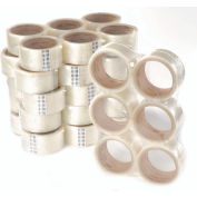 3M 36 Carton Sealing Tape 371 48m x 50mm 1.9 Mil Clear + FREE Dispenser
