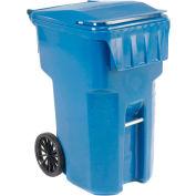 Otto Mobile Trash Container, 95 Gallon Blue - 9954444F-B43