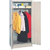 """EDSAL Wardrobe Cabinet 6601TN - 30""""W x 18""""D x 66""""H Tan, Unassembled"""