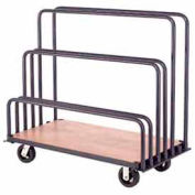 "Adjustable Mobile Sheet Rack 48""L x 24""W x 36""H"