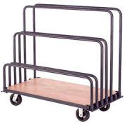 "Global Industrial™ Adjustable Mobile Sheet Rack 60""L x 30""W x 36""H"