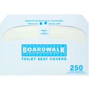 Boardwalk Premium 1/2 Fold Toilet Seat Covers, 250 Covers/Sleeve 20/Case Bwk K5000 BWKK5000