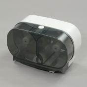 "Twin Toilet Roll Dispenser for Standard 5"" Rolls - Horizontal"