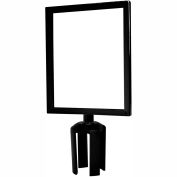 """Sign Frame (7""""Wx11""""L) With Adapter For Crowd Control Barrier"""