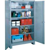 Lyon Heavy Duty Storage Cabinet DD1112 - 36x21x64 - Gray