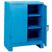 Lyon Counter Height Heavy Duty Storage Cabinet BB1110 - 36x21x46 - Blue