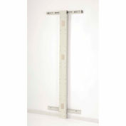 "72""H Wall Mount Post - Beige"