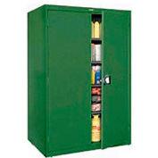 Sandusky Elite Series Storage Cabinet EA4R462478 - 46x24x78, Green
