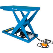 Bishamon® OPTIMUS Lift3K Power Scissor Lift Table 48x28 3000 Lb. Cap. Hand Control L3K-2848