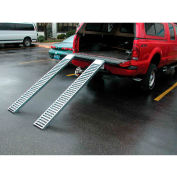 """Vestil Pair of Steel Pickup Truck & Van Ramps RAMP-72 72"""" 500 Lb. Capacity"""
