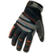 Ergodyne® ProFlex® 710 Full-Finger Mechanic's Gloves - Black, Large, 1 Pair
