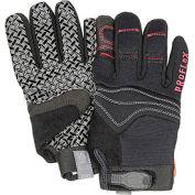 Ergodyne® ProFlex® 821 Silicone Handler Gloves - Black, Small, 1 Pair