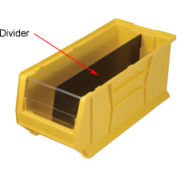 Quantum Divider DUS955 For Hulk Stacking Bins QUS955, QUS965, 18-1/4 x 23-7/8 x 12, Price Pkg of 6