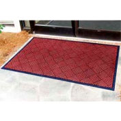 "Outdoor Scraper Entrance Mat 1/4"" Thick 24"" X 36"" Red"