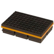 """Mason Industries WMSW8X8 Super W Pad - Neoprene And Steel Pad With Friction Pad 8"""" X 8"""" X 1 1/4"""""""