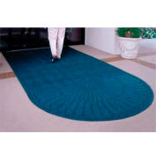 Waterhog Grand Classic Mat One Oval / One Straight 6'W X 7'L Navy