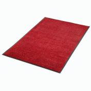 """Plush Super Absorbent Mat 48""""W X 72""""L Red-Black"""