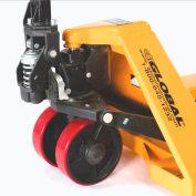 "Replacement 7"" Polyurethane Steer Wheel for Global Best Value Pallet Trucks"