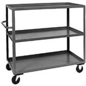 Jamco Heavy Duty Shelf Truck CC360 3 Shelves 60x30 3000 Lb. Capacity