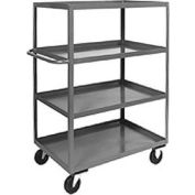 Jamco Heavy Duty Shelf Truck CD136 4 Shelves 36x18 3000 Lb. Capacity