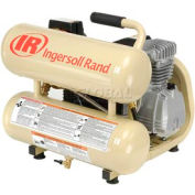 Ingersoll-Rand Portable Air Compressor P1IU-A9, Twin Stack, 2HP, 4.5 Gal
