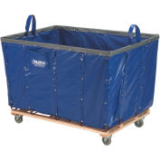 Best Value 20 Bushel Blue Vinyl Basket Bulk Truck