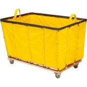 Best Value 24 Bushel Yellow Vinyl Basket Bulk Truck