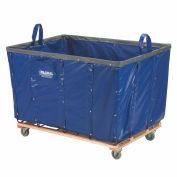 Best Value 24 Bushel Blue Vinyl Basket Bulk Truck