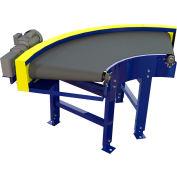 "Omni Power Turn Belt Conveyor BCCU-PT36-90LH 12""W 90 Degree Left Curve 36 Degree Radius 3/4 HP"