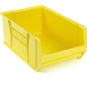 "Akro-Mils Super-Size AkroBin® 30290 - Stacking Bin 18-3/8""W x 29-1/4""D x 12""H Yellow"
